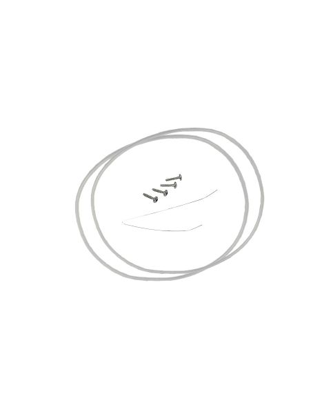 2 x Dichtung für Pumpentopf Ø 182 mm Alternative für BSH 12005744 (SD001010)