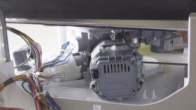 Geschirrspüler Fehler E09 - Heizpumpe seitlich wechseln (Bosch / Siemens / Neff)