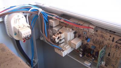 Waschmaschine löst den FI aus: Elektronik tauschen (Gorenje)