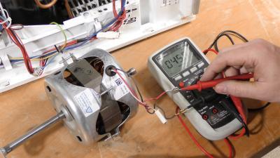 Trockner - Motor durchmessen und tauschen