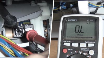 Geschirrspüler Fehlermeldung E09 - Heizpumpe überprüfen (Bosch / Siemens / Neff)