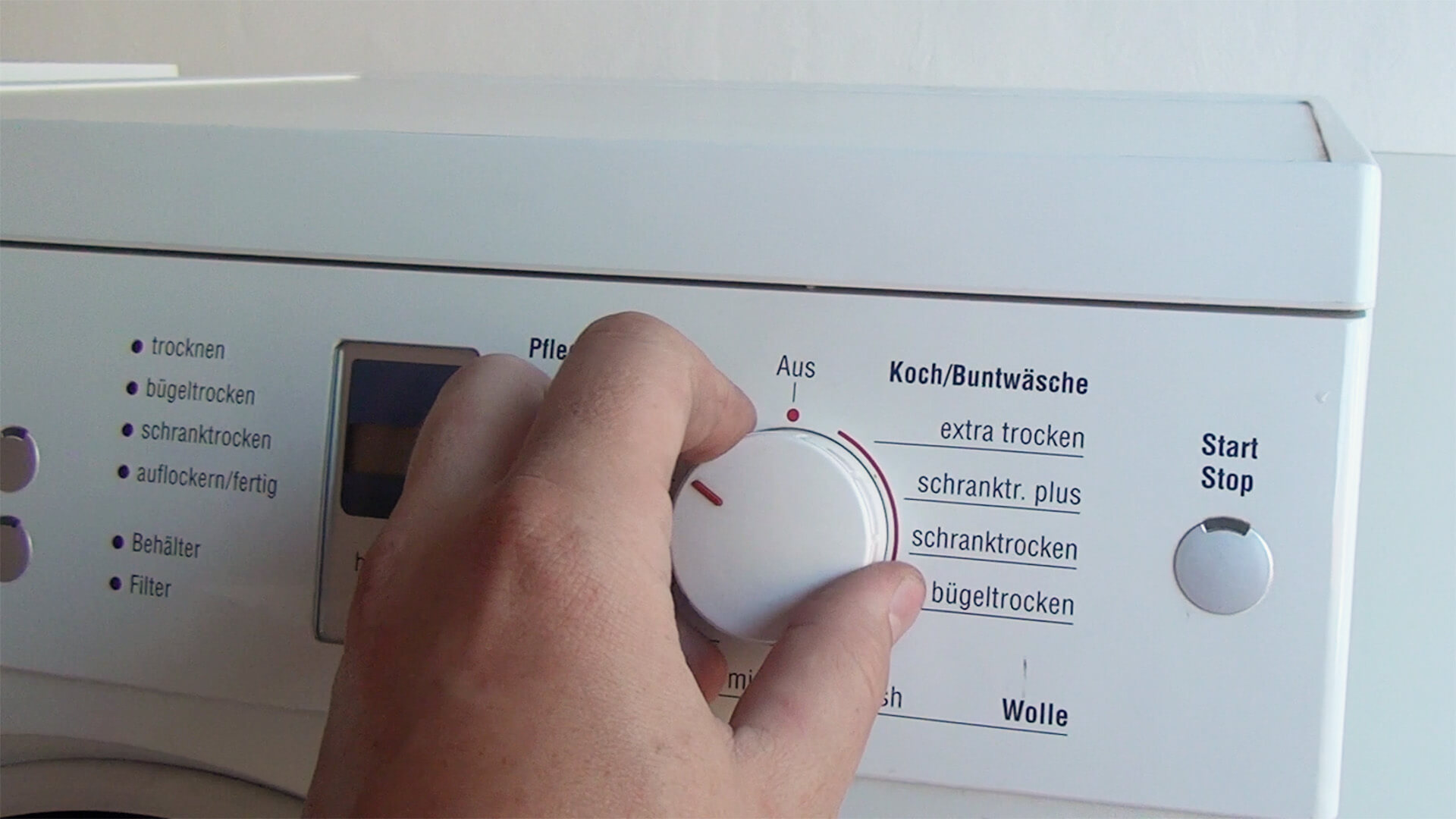 Bosch trockner geht nicht an