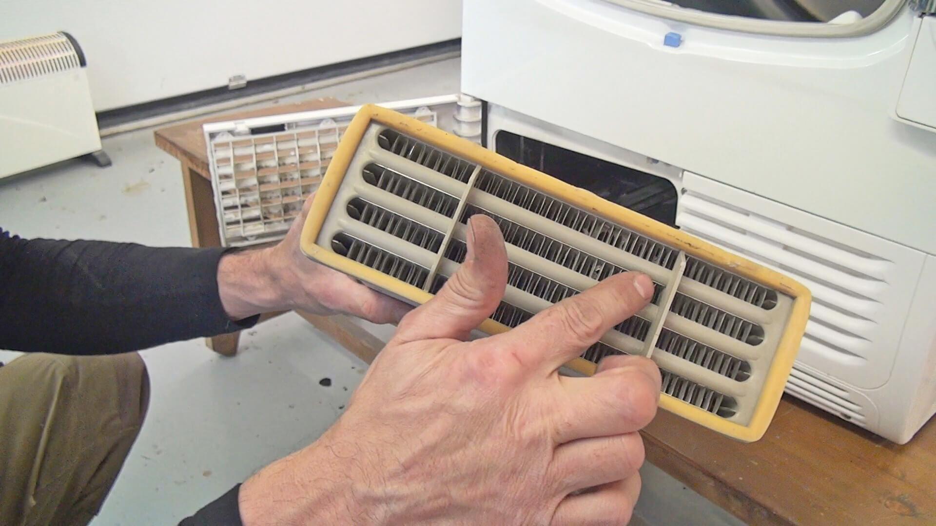 Fehlersuche: Whirlpool Trockner trocknet nicht mehr richtig