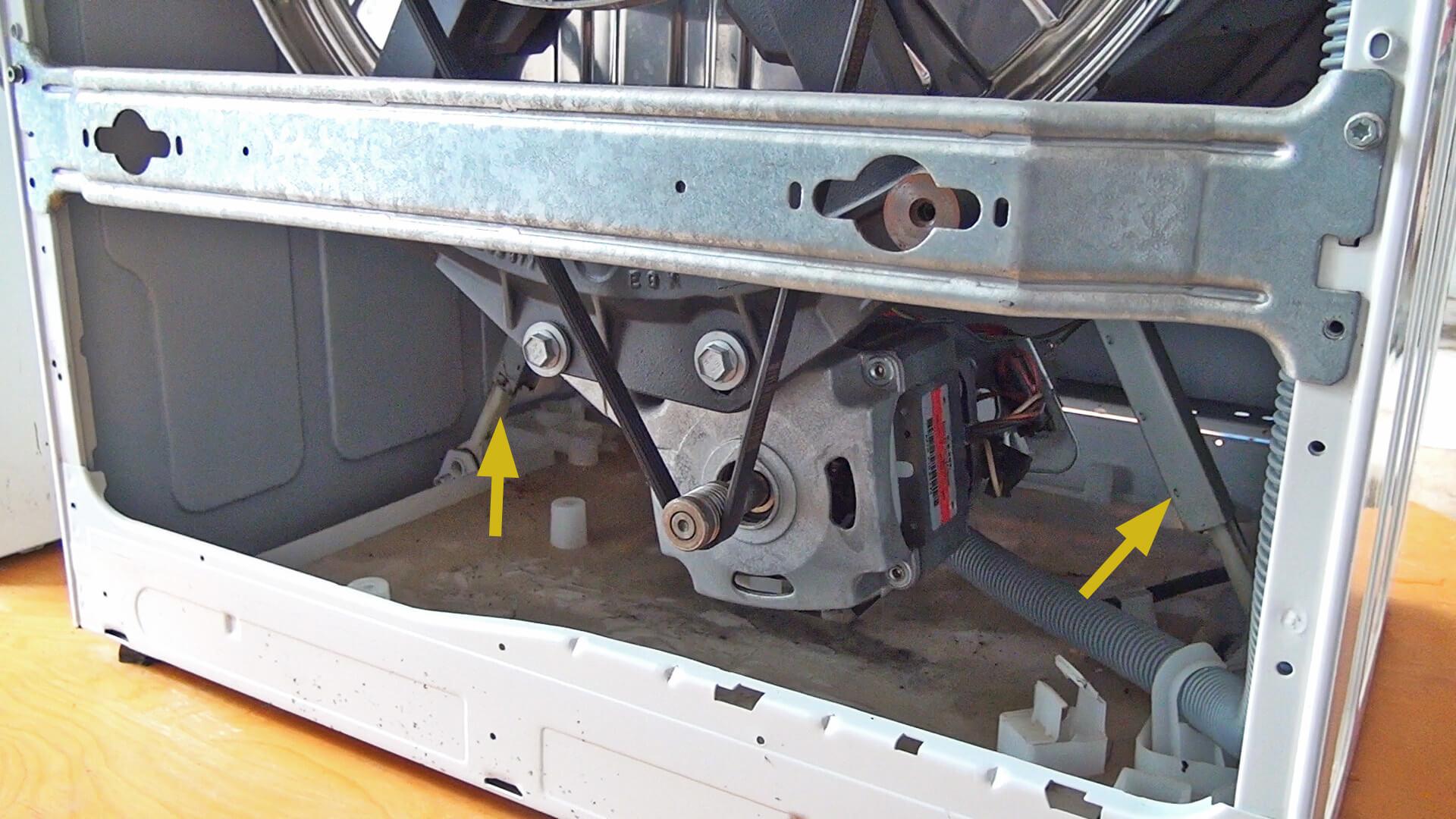 Extrem Bauknecht Waschmaschine - Stoßdämpfer wechseln VH29