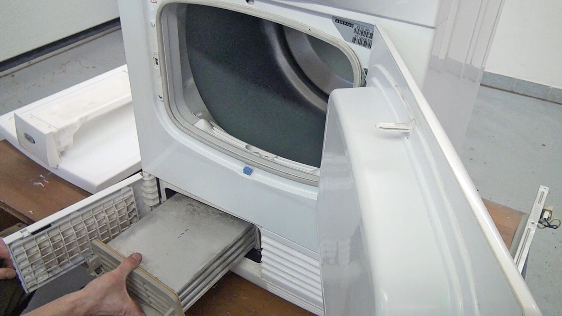 Kondensator entfernen