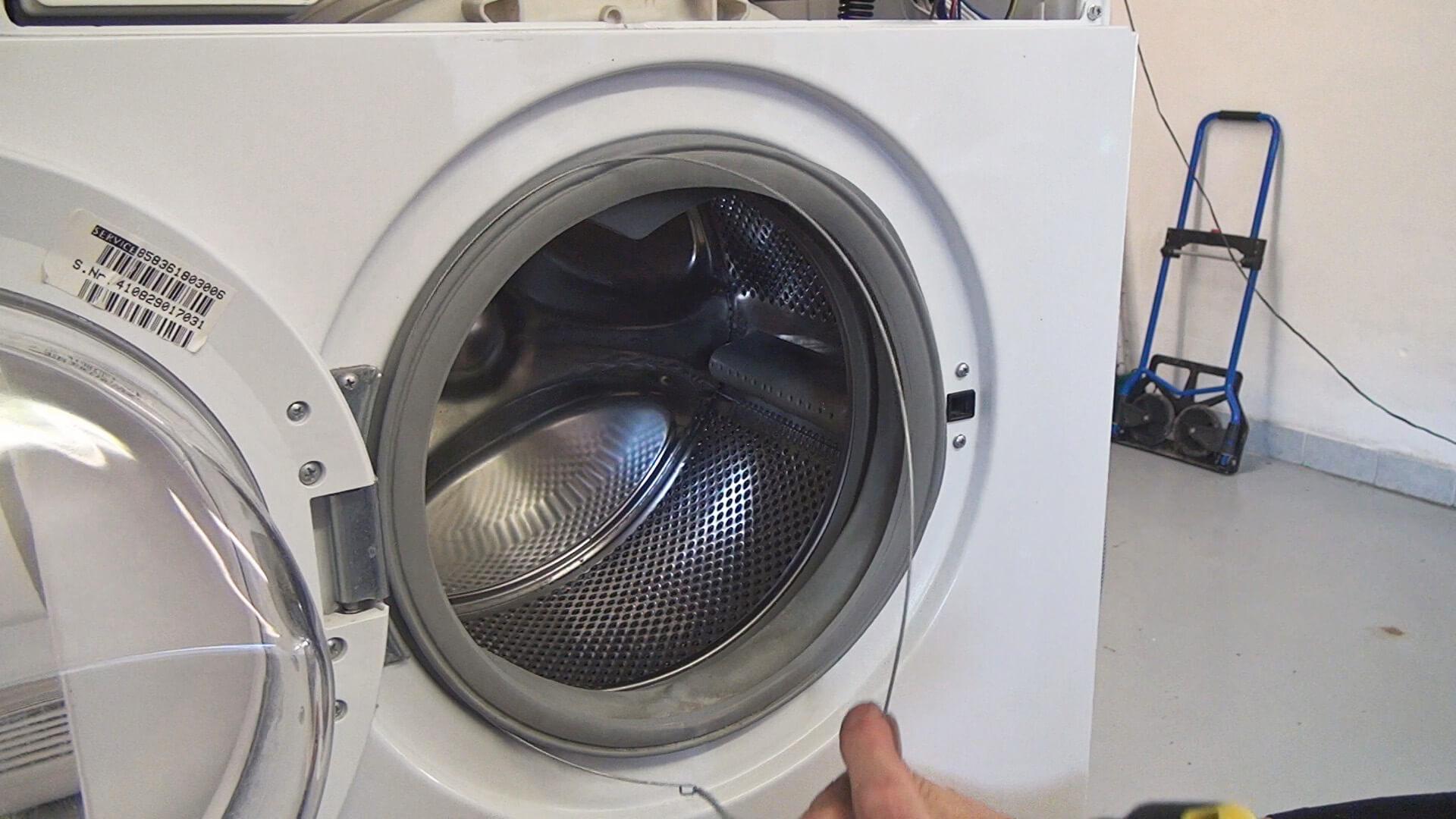 Bauknecht Waschmaschine Turdichtung Wechseln